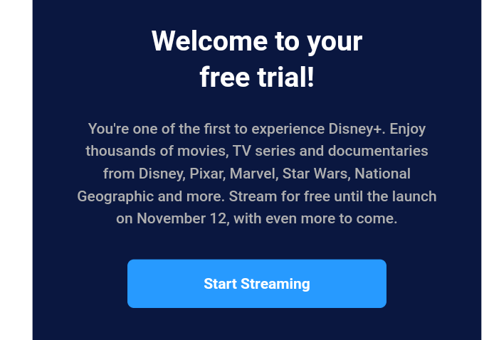 Should I switch to Disney+ (free in The Netherlands until 12th November)?