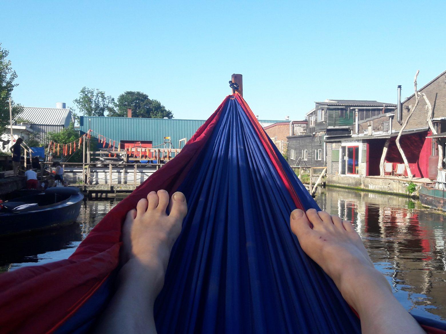 My OneFit Week – Monday, Aerial Restorative Yoga at Rasalila