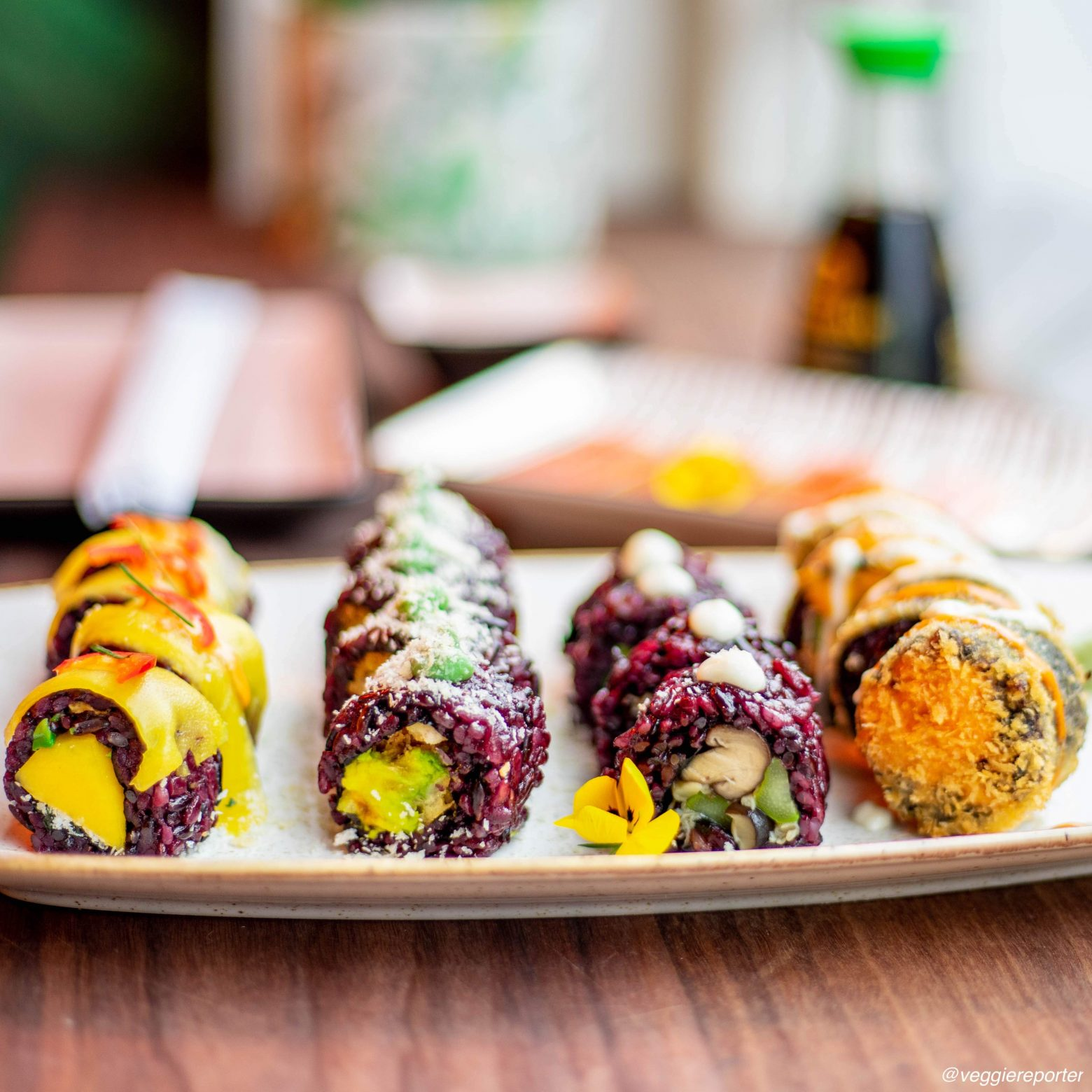 A Second Vegan Sushi Restaurant in Amsterdam