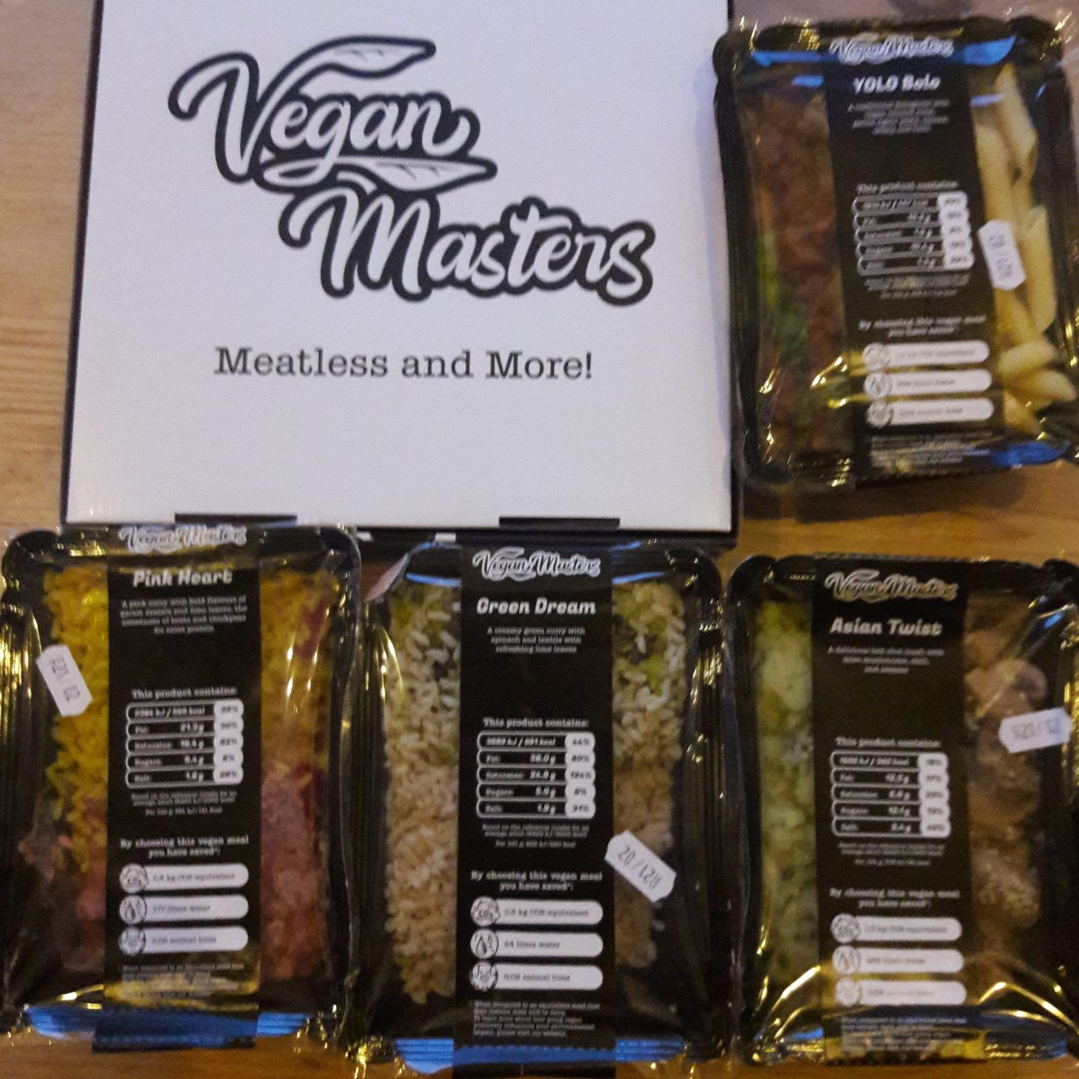 Vegan Masters – home delivery meal service