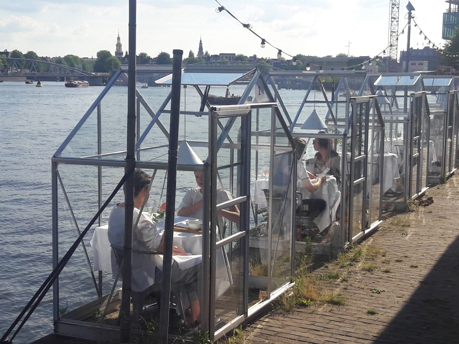 Heard about the greenhouse dining at Mediamatic ETEN?